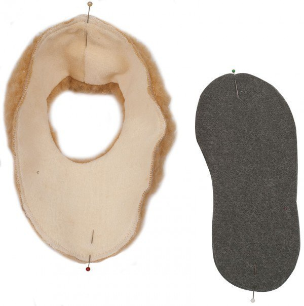 Como hacer zapatillas fieltro con moldes para ninos03