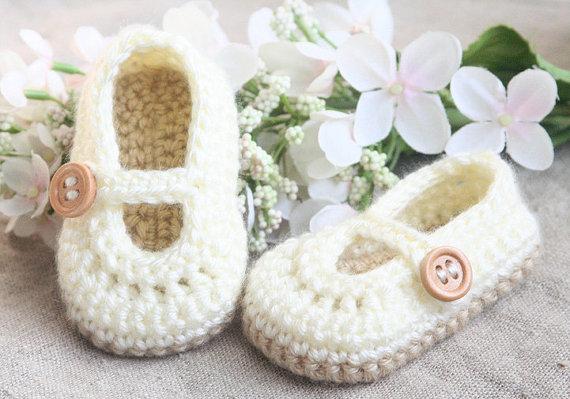 Como hacer zapatos a crochet para niñas02