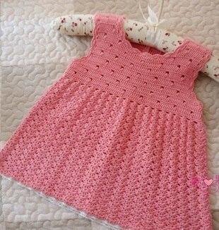 Como tejer una blusa sin mangas a crochet para niñas01