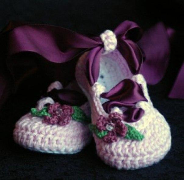 Zapatitos y sandalias a crochet para bebes01