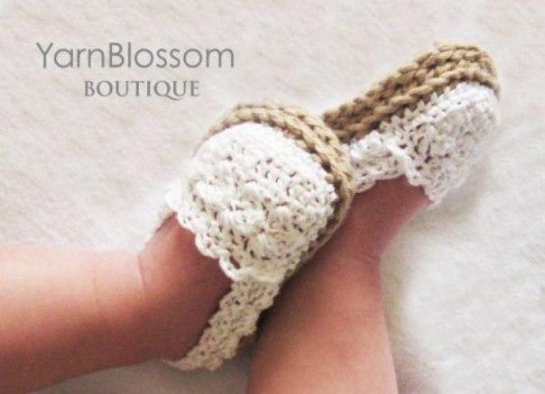 Zapatitos y sandalias a crochet para bebes03