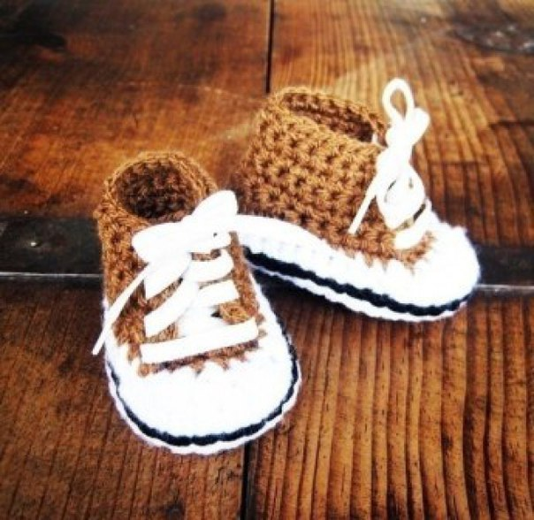 Zapatitos y sandalias a crochet para bebes04