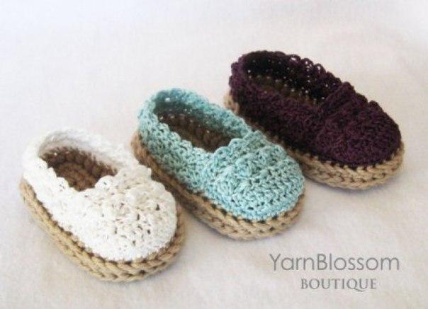 Zapatitos y sandalias a crochet para bebes06