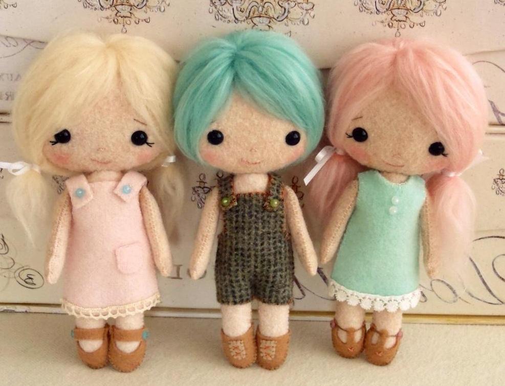 Куклы своими руками сделанные