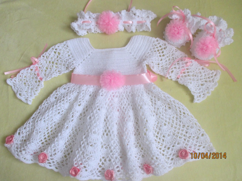 vestido manga larga crochet (2)