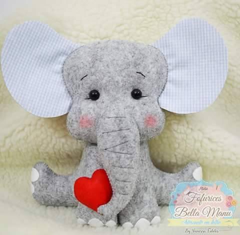 Como hacer elefantes de fieltro con moldes03