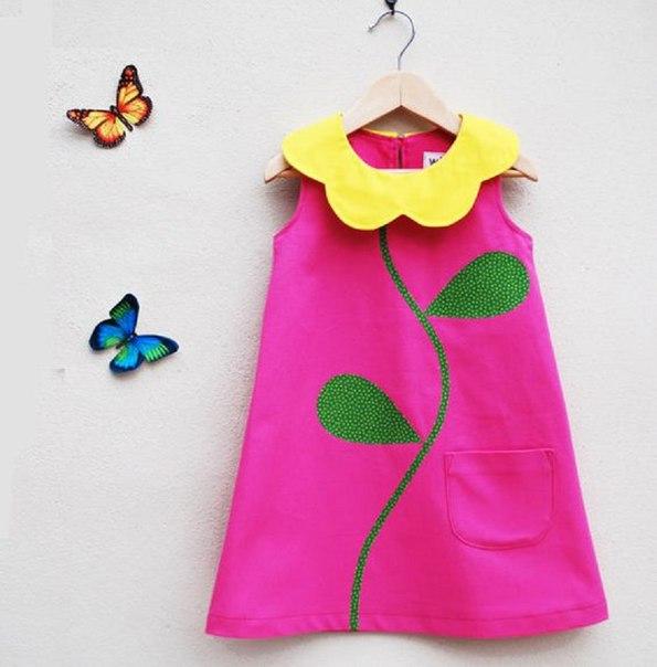Como Hacer Un Vestido Corte Trapecio Para Niñas