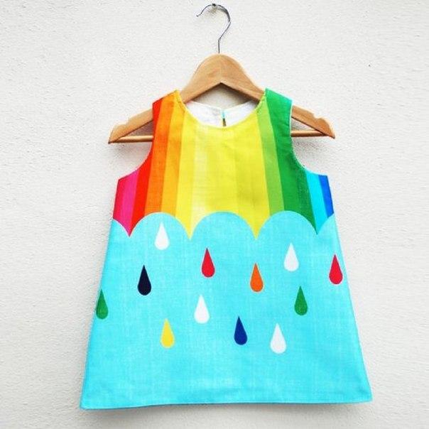 Como hacer un vestido corte trapecio para niñas05