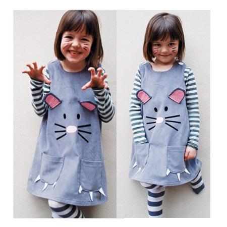18342034f Como hacer un vestido para niña paso a paso