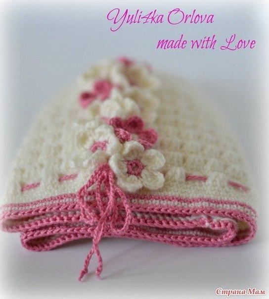 Como tejer un gorro para niñas a crochet01