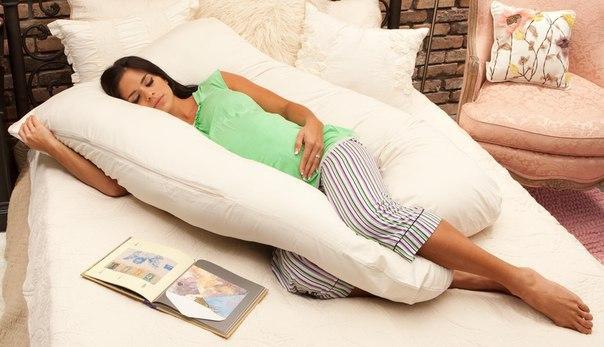 Molde para hacer una almohada para embarazada01