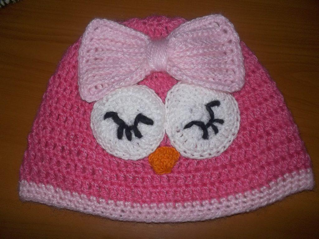 gorro para niñas a crochet01