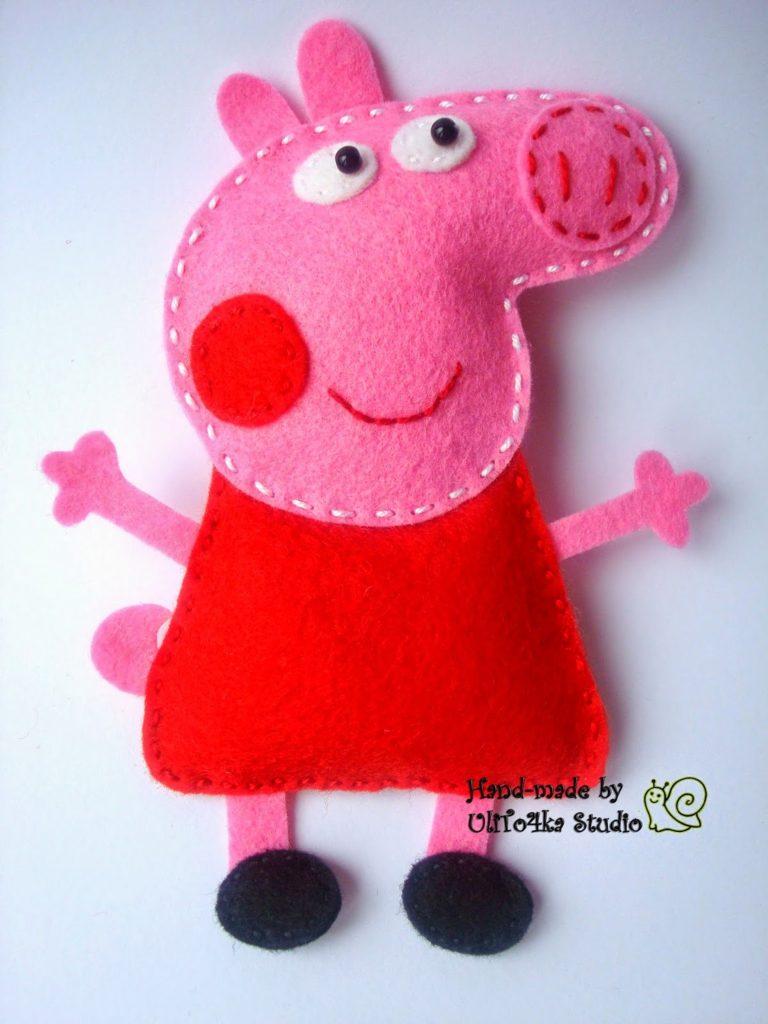 peppa pig felt01