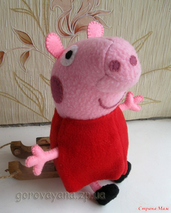 peppa pig felt02