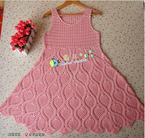 Como hacer un vestido tejido para mujer