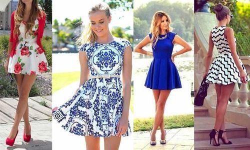 vestidos primaverales para dama