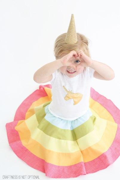 Como hacer una falda circular para niñas05