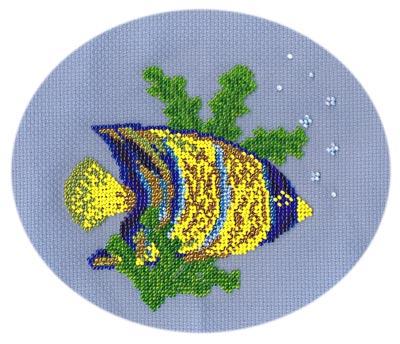 animales marinos en punto de cruz (3)