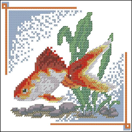 animales marinos en punto de cruz (5)