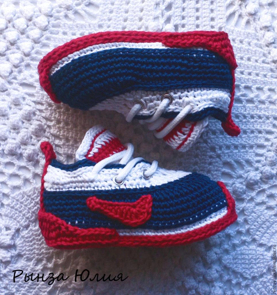 zapatillas a crochet para bebes (2)