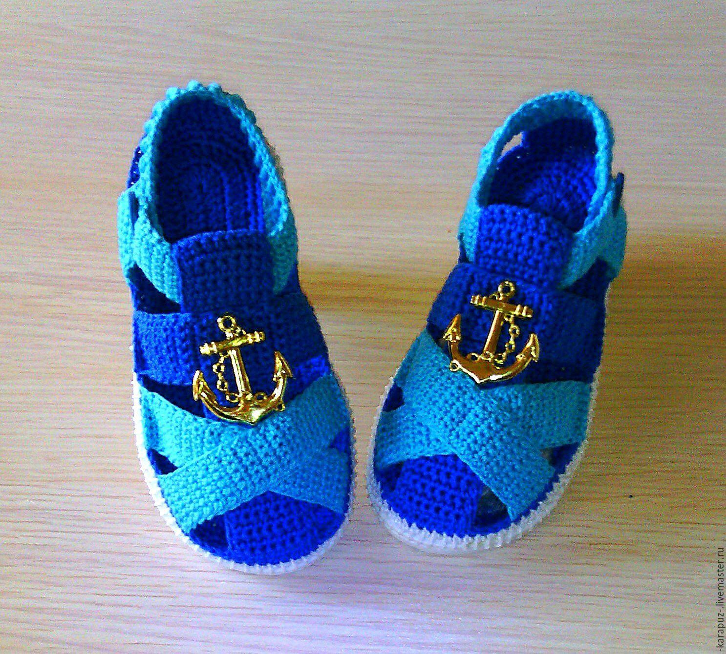Como hacer zapatillas a crochet para bebes
