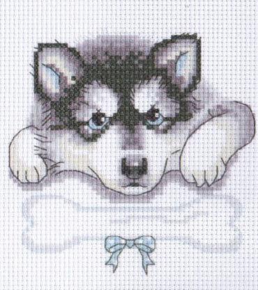 Apliques de perritos en punto de cruz01