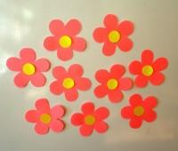 Como hacer flores de papel súper fáciles