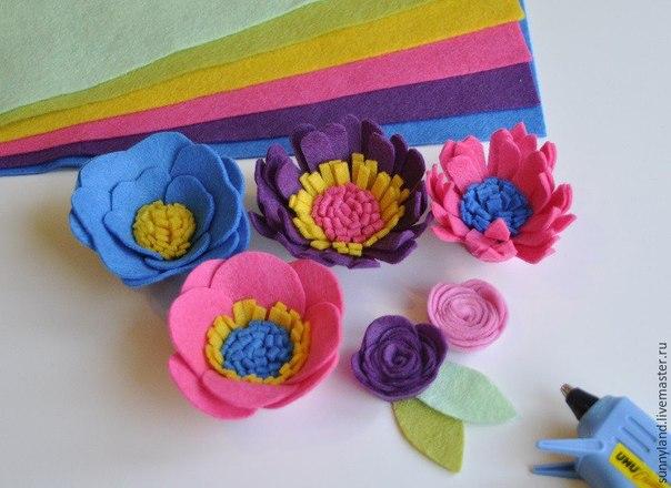 Como hacer flores de fieltro con moldes03