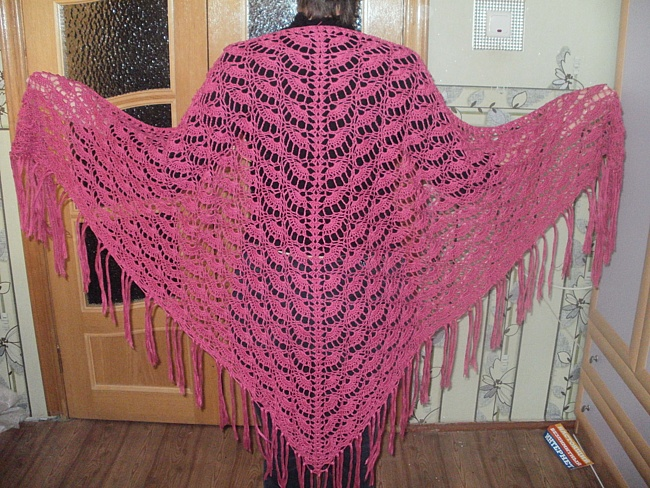 Como hacer un chal tejido a crochet