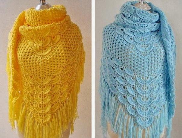 Como hacer un chal tejido a crochet02