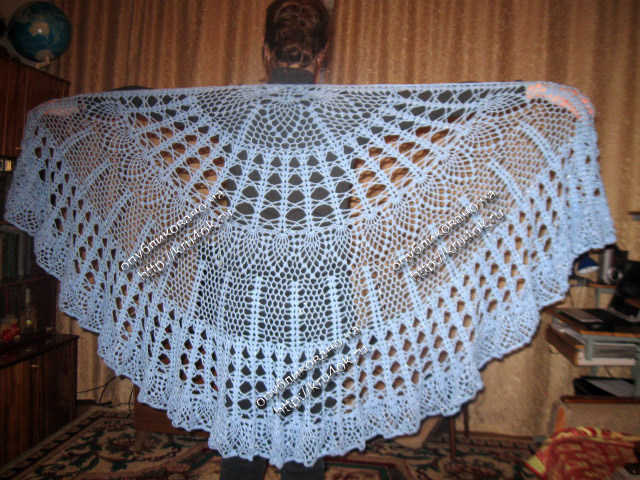 Como hacer un chal tejido a crochet08
