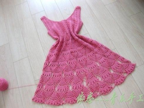 Como hacer un vestido a crochet para mujer05