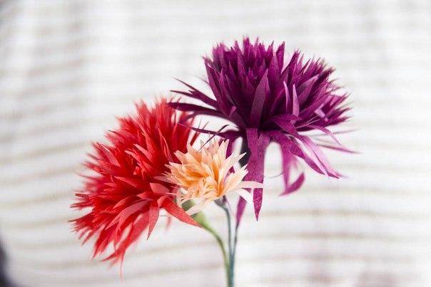 Flores De Papel Faciles De Hacer
