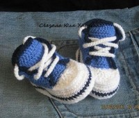 ideas de zapatitos en crochet modelos