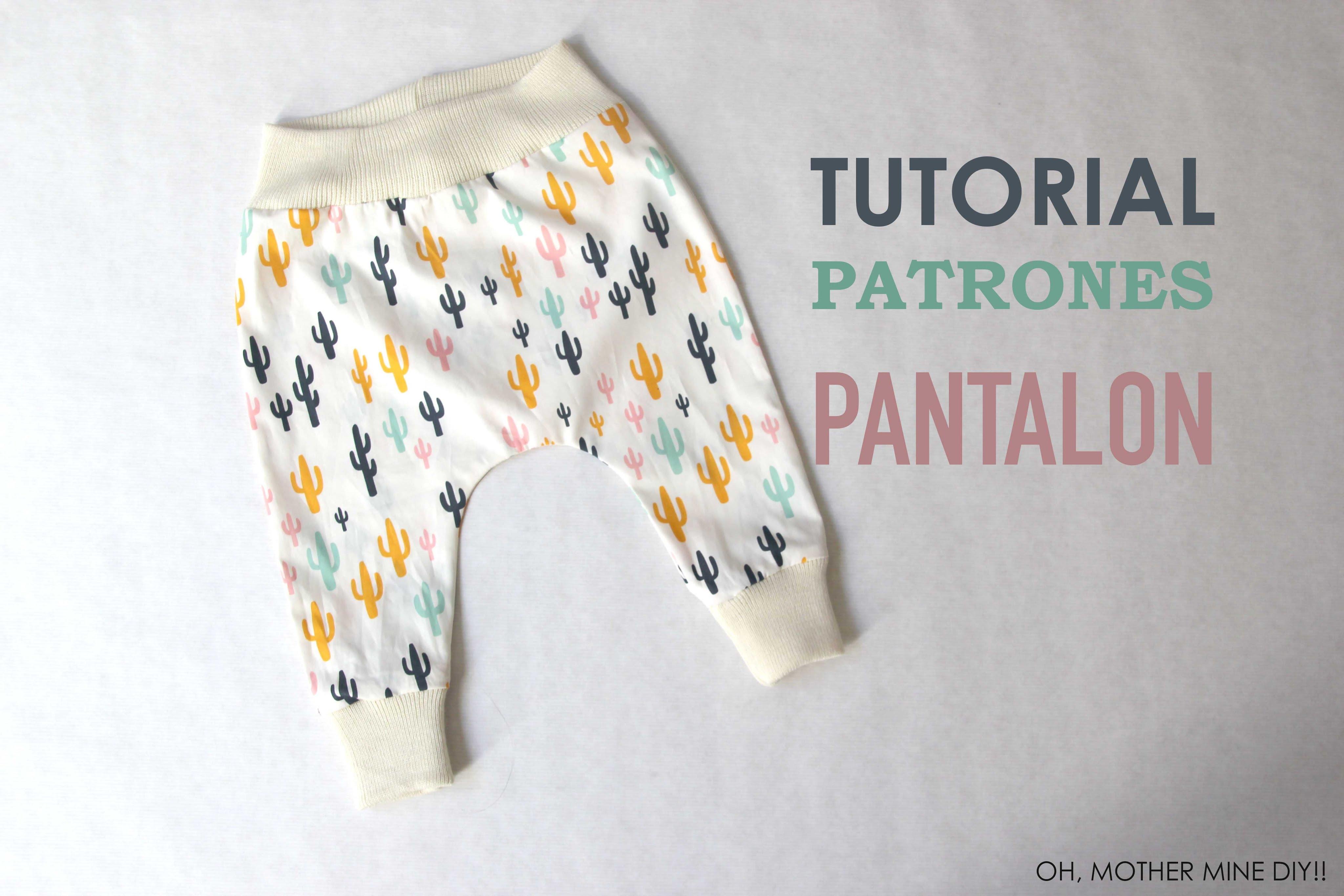 Como hacer leggins y pantalones para niños