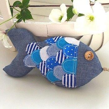 Como hacer peces de tela con moldes01