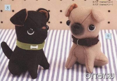Como hacer perritos de peluche con moldes07
