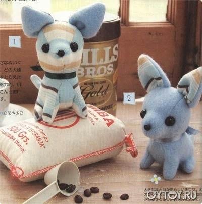 Como hacer perritos de peluche con moldes09