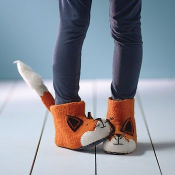 Como hacer unos botines de tela para niñas01as