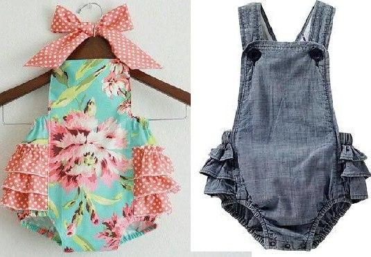 Como hacer un enterizo para bebe for Jardineira bebe 1 ano