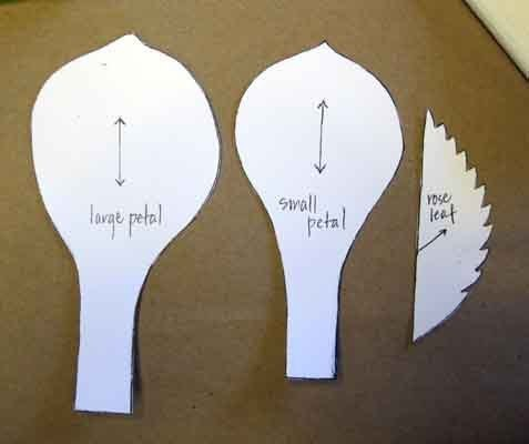 Cómo hacer flores grandes de papel (7)