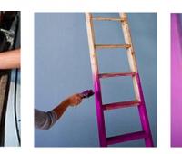 Como hacer un práctico Aerocloset con una escalera