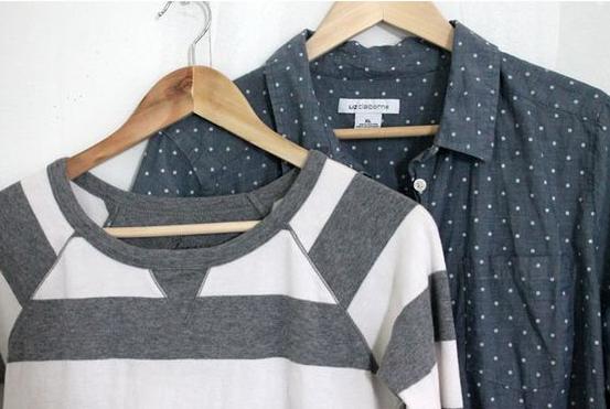 como hacer un vestido uniendo una camiseta y un sueter1