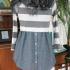 Como hacer un lindo vestido uniendo una camisa y un suéter