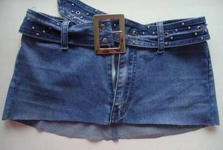 manualidad jeans a falda3