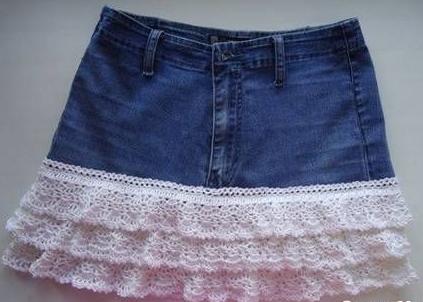 manualidad jeans a falda6