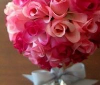 Como hacer centro de mesa floral fácil
