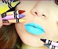 Como hacer labiales con creyones de cera