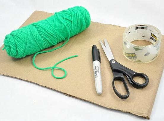 como-hacer-letras-de-carton-con-lana2
