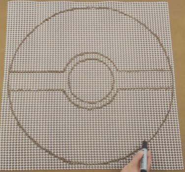 Una alfombra de Pokeball2